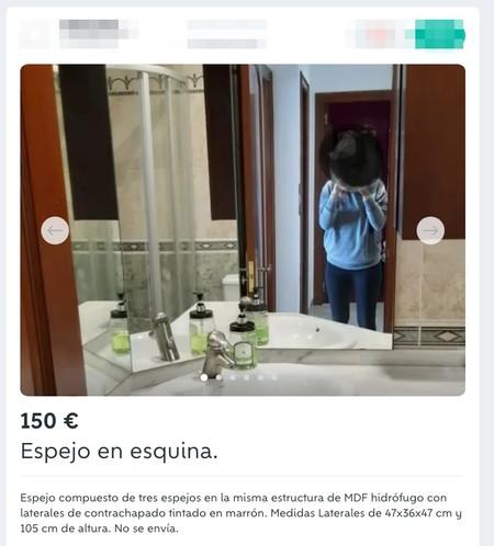 Window Y Espejo En Esquina De Segunda Mano Por 150 Eur En Naron En Wallapop