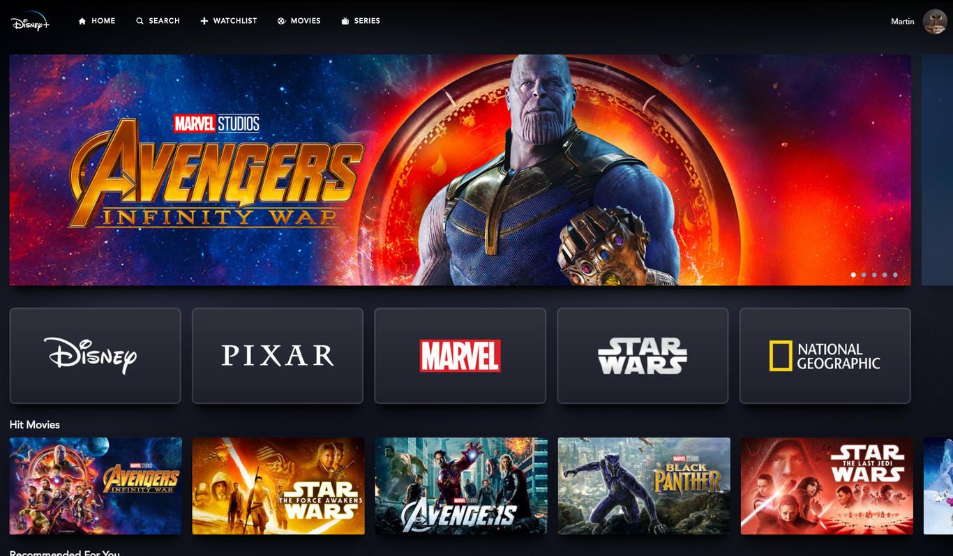 Disney+: este es el enorme catálogo de películas, series y programas del nuevo servicio de streaming que...