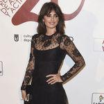 Penélope Cruz vuelve a apostar por el negro para convertirse en la mejor vestida de los Premios Unión de Actores