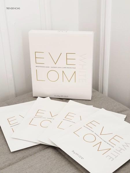 Luminosidad extrema e instantánea con las mascarillas White Brightening de Eve Lom. Las probamos (y alucinamos)