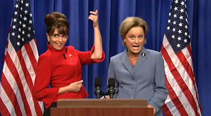 """Tina Fey """"canibaliza"""" a Sarah Palin y da la vuelta al mundo"""