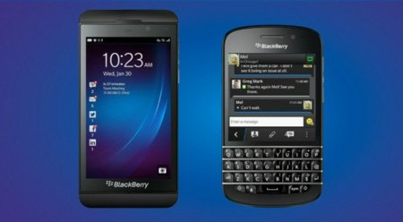 Primeros teléfonos con BlackBerry 10