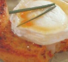 Tostadas picantes con queso de cabra
