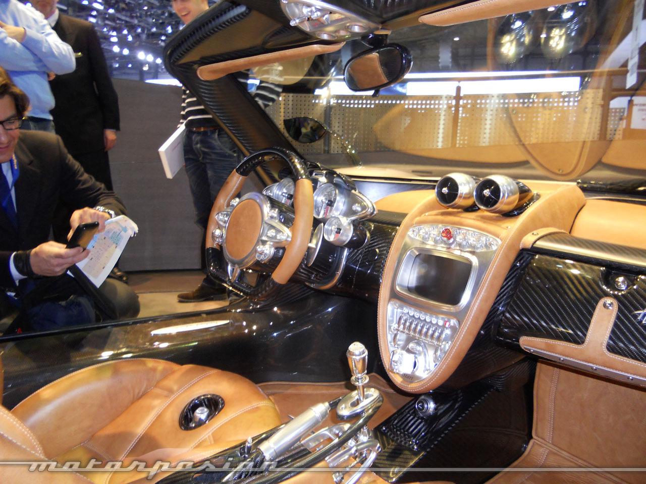 Foto de Pagani Huayra en el Salón de Ginebra (3/8)