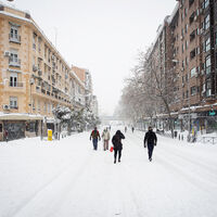 La nevada de nuestras vidas: el histórico temporal de nieve en el interior de España, en imágenes