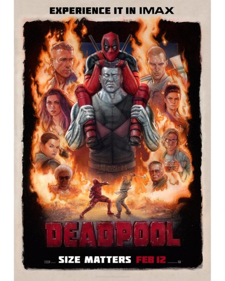 Cartel IMAX de Deadpool
