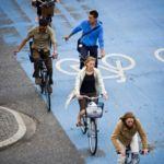 En Copenhage hay más bicicletas que personas, y ambas parecen felices