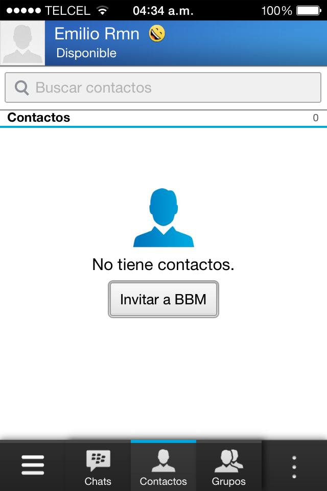 Foto de BBM para iOS (3/8)