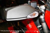 Ducati Hypermotard 2013 de cerca: íntimo y personal