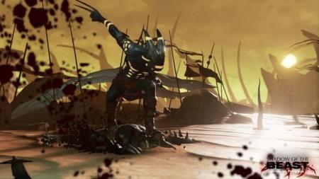 El primer gameplay del Shadow of the Beast de PS4 tiene sangre, sangre... y más sangre