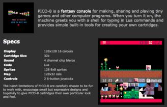 PICO-8, una consola virtual que pone a prueba tu creatividad