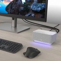 Logi Dock o cómo mantener el escritorio de tu casa ordenado y optimizado para videoconferencias