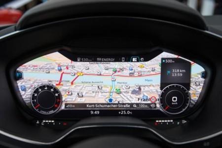 Audi TT 2014 cuadro de mandos