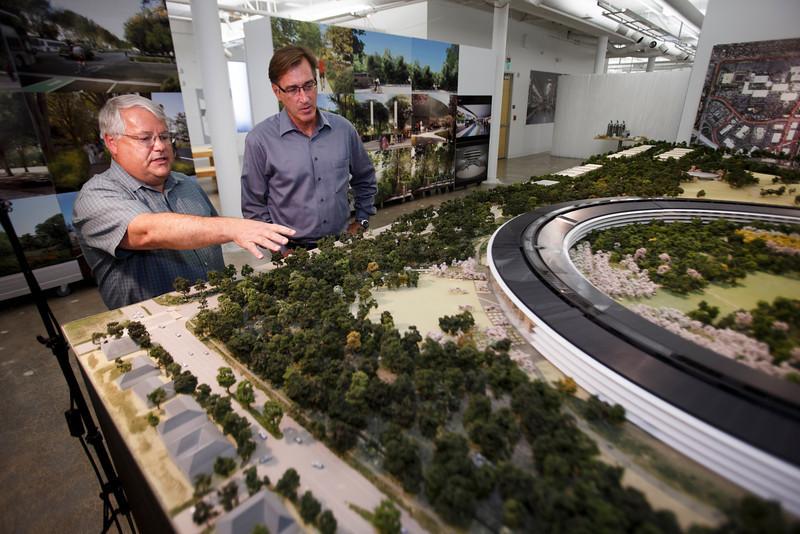 Foto de Maqueta del Campus 2 de Apple (9/22)
