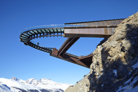 Skywalk Del Glaciar De Alberta