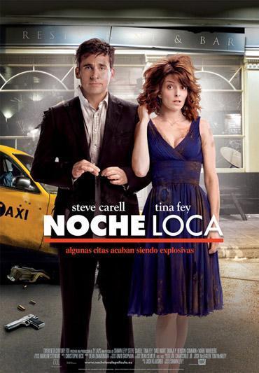 'Noche loca' ('Date night'), cartel y trailer de la comedia que une a Steve Carell y Tina Fey