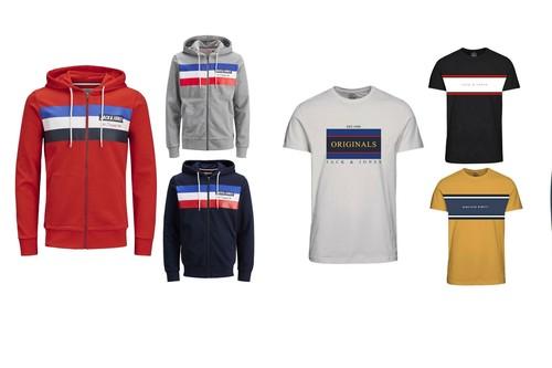 12 ofertas en abrigos, sudaderas y camisetas Jack&Jones disponibles en eBay desde 9,99 euros