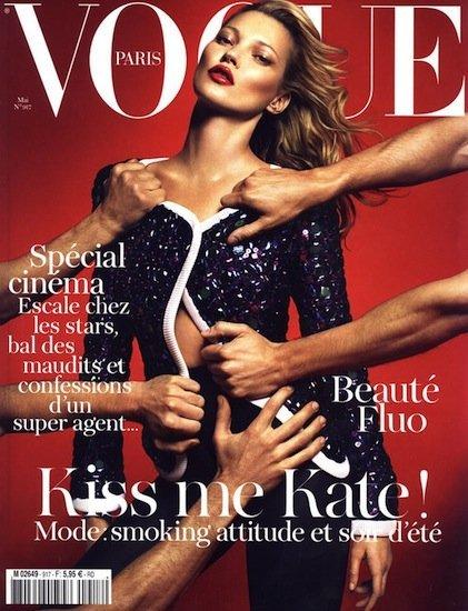 Kate Moss es la segunda apuesta de Emmanuelle Alt para la portada de Vogue París