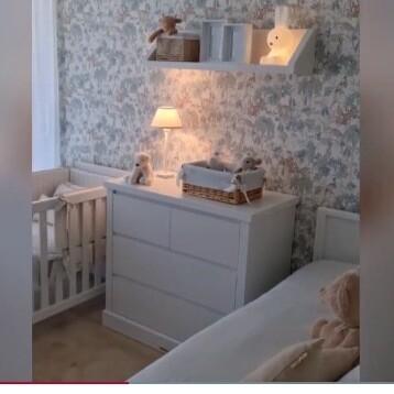 Consigue imitar la habitación del bebé de Paula Echevarría con estas preciosas piezas decorativas
