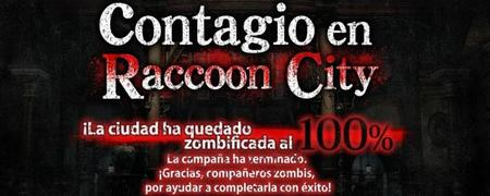 Este es nuestro premio por infectar al 100% Raccoon city
