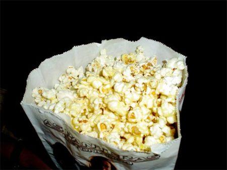 Los aperitivos del cine pueden ser un serio problema para la salud