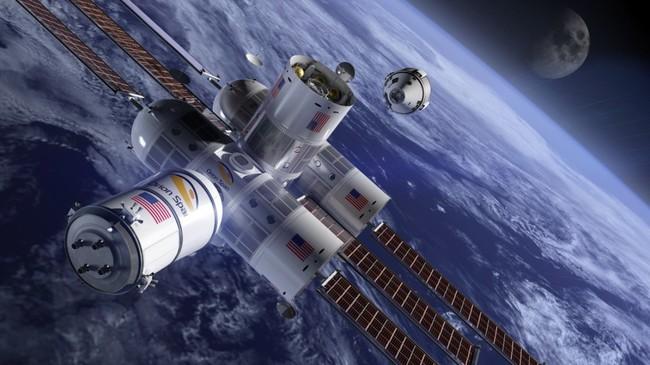 El primer hotel del espacio