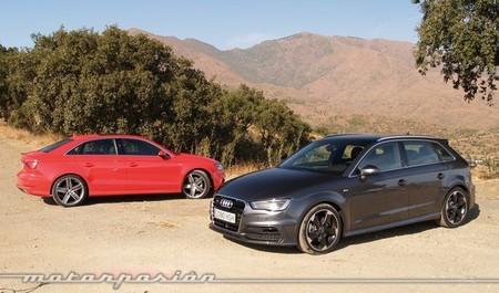 Audi A3, sportback, sedán y S3, presentación y prueba en Málaga (parte 1)