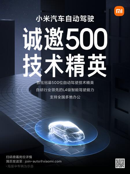 Xiaomi contratación