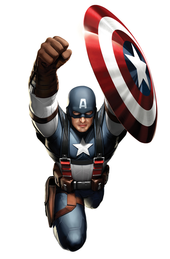 Foto de Capitán América y Thor, diseños de los trajes (3/5)