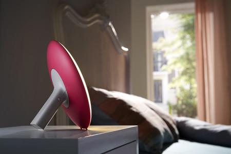 Philips Wake Up Light Hf3506 Rojo Lifestyle