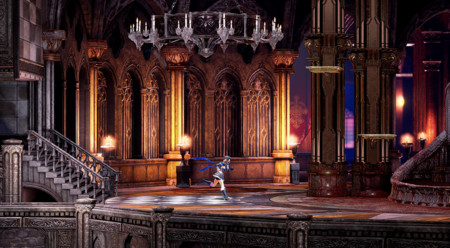 Bloodstained Ritual Of The Night Escenario