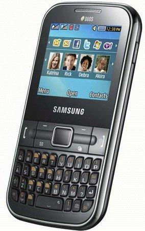 Samsung Ch@t 322, terminal de mensajería con doble tarjeta SIM