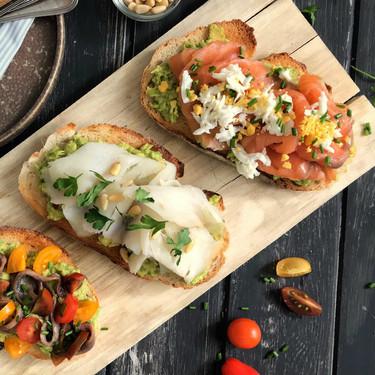 31 tostadas (o tostas) para desayunar o cenar, originales, deliciosas y rápidas