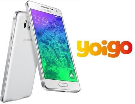 Precios Samsung Galaxy Alpha con Yoigo y comparativa con Movistar y Vodafone