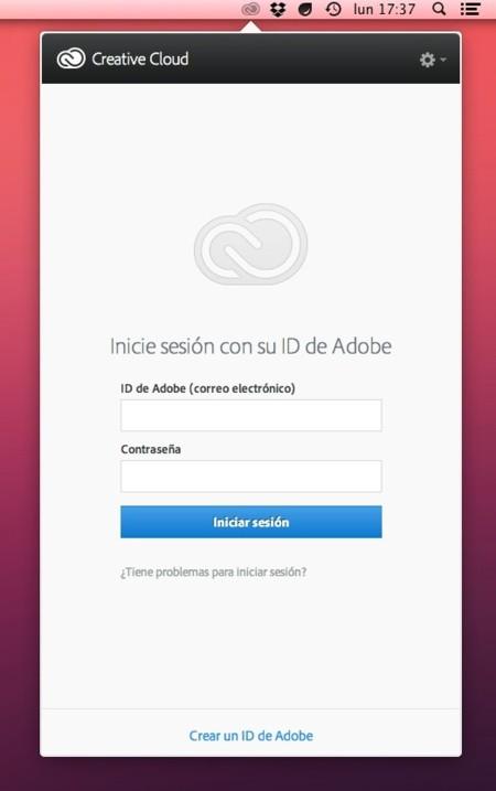 adobe creative cloud panel mac os x