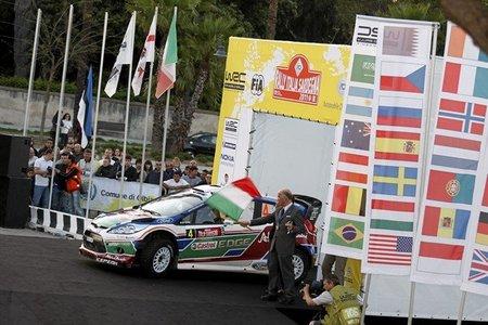 El Rally de Italia se traslada de Cerdeña a Sicilia