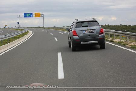 Chevrolet Trax 2013, en carretera