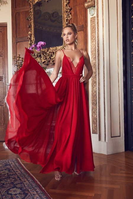 Revolve Michael Costello Justin Gown