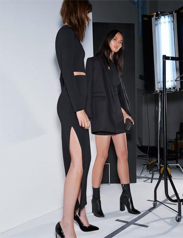 Los 9 vestidos perfectos de Zara para dar la bienvenida al 2016