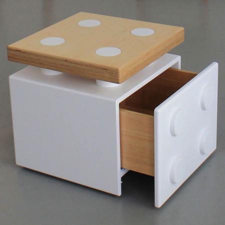 El mueble LEGO de doble función