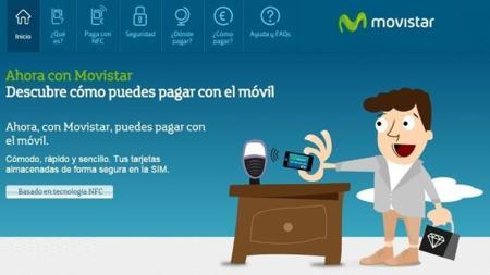 Movistar también se apunta la moda de los pagos móviles mediante NFC
