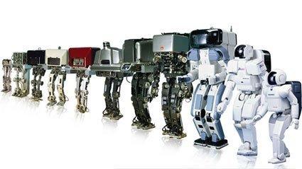 Historia del robot ASIMO
