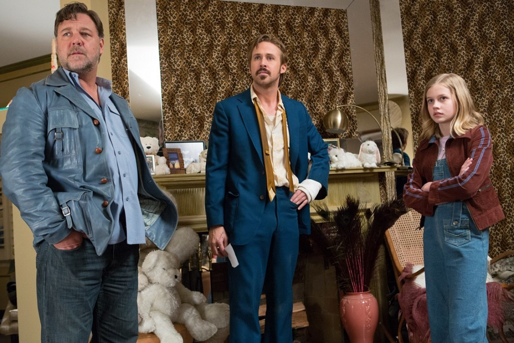 Ryan Gosling Russell Crowe Angourie Rice En Dos Buenos Tipos