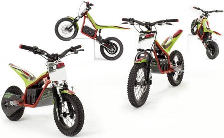 Mecatecno T-8 y T-12: las motos de campo eléctricas para niños