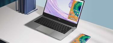 El ultrabook Huawei MateBook D14 baja hasta los 749 euros en Amazon, su mínimo: diseño ultrafino y batería de larga duración