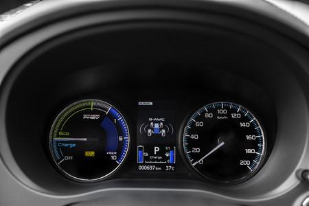 Mitsubishi Outlander PHEV 2019 cuadro mandos