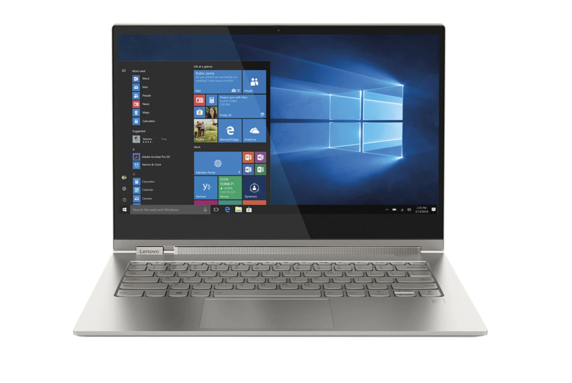 Convertible 2 en 1 Lenovo Yoga C930, i7, 16 GB, 512 GB SSD