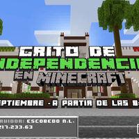 El grito de independencia en la nueva normalidad: en Nuevo León crearon un servidor de 'Minecraft' para celebrar desde casa