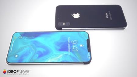 Concepto Iphone Xi Trasero