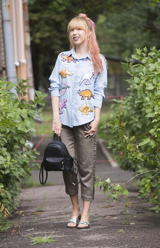 street style tendencia dinosaurios